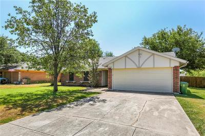 North Richland Hills Single Family Home Active Option Contract: 6724 Greenacres Drive