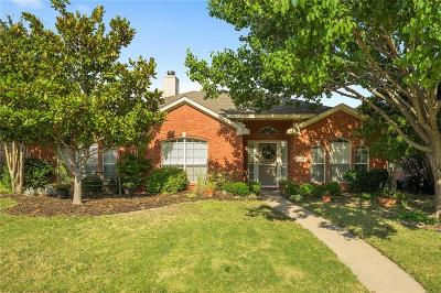 Frisco Single Family Home Active Option Contract: 8104 Stern Street