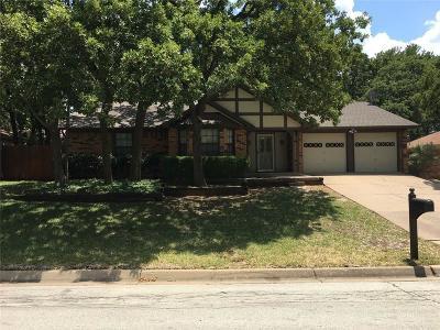 Hurst Single Family Home Active Option Contract: 309 Bremen Drive