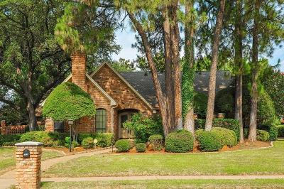 Bedford Single Family Home Active Option Contract: 3609 Brookside Drive