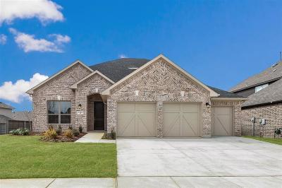 Aubrey Single Family Home For Sale: 5109 Pavilion