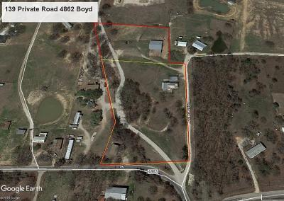 Boyd Residential Lots & Land For Sale: 139 Private Road 4862