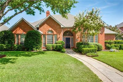 Plano Single Family Home Active Option Contract: 3509 Caleche Court