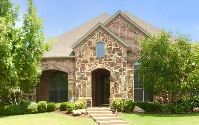 Lewisville Single Family Home Active Option Contract: 417 Broken Sword Drive
