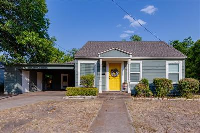 Waxahachie Single Family Home Active Contingent: 606 Dunn Street
