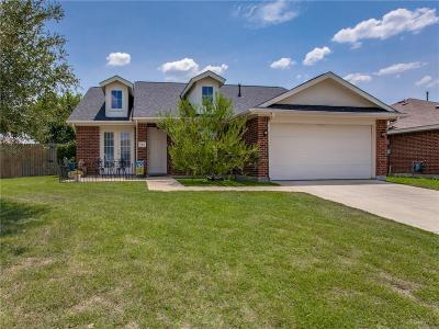 Terrell Single Family Home Active Option Contract: 149 Brushy Creek Lane