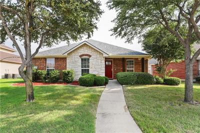 Allen Single Family Home Active Option Contract: 1705 Balboa Lane