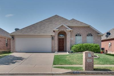 Single Family Home For Sale: 4508 Dragonfly Way