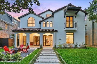 Dallas County Single Family Home For Sale: 7209 Colgate Avenue
