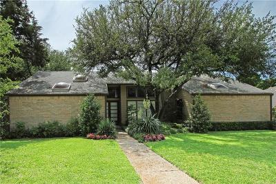 Dallas Single Family Home For Sale: 7138 Teakwood Drive