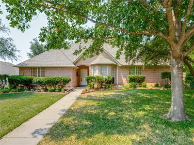 Keller Single Family Home Active Option Contract: 1605 Brentwood Trail