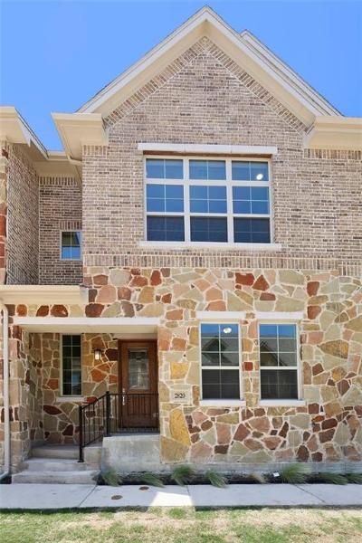 Carrollton Townhouse For Sale: 2813 Lindale
