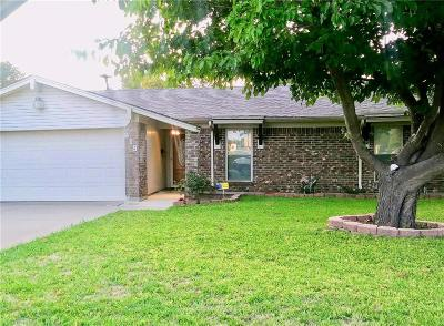 Seagoville Single Family Home Active Option Contract: 819 High School Drive