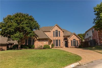 Rockwall Single Family Home For Sale: 121 Clipper Court