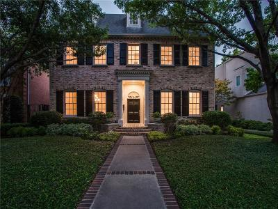 Highland Park Single Family Home For Sale: 3517 Potomac Avenue
