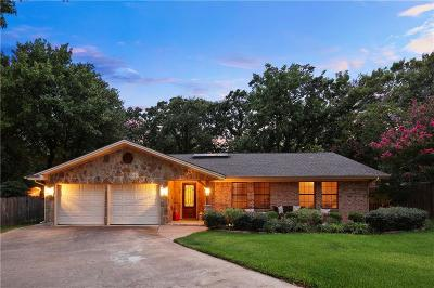 Grapevine Single Family Home Active Option Contract: 503 Dove Creek Place