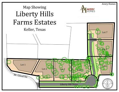 Keller Residential Lots & Land For Sale: 1315 Liberty Hill Drive