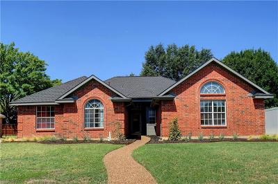 Grapevine Single Family Home Active Option Contract: 613 Dove Creek Circle