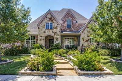 Allen Single Family Home For Sale: 855 Deerfield Road