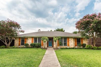 Plano Single Family Home Active Option Contract: 4444 Denver Drive