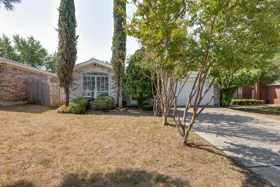 Keller Single Family Home Active Option Contract: 214 Arabian Lane