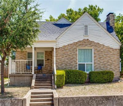 Dallas TX Single Family Home For Sale: $240,000