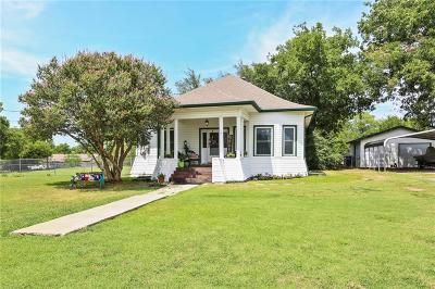 Gunter Single Family Home Active Option Contract: 116 E Pecan Street
