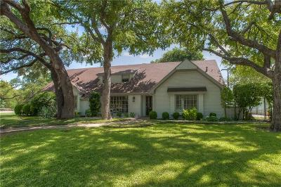 Fort Worth Single Family Home For Sale: 3013 Overton Park Drive E