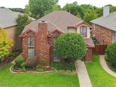 Coppell Single Family Home Active Option Contract: 416 Leisure Lane