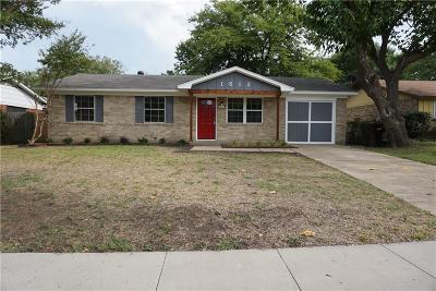 Plano Single Family Home For Sale: 1612 Japonica Lane
