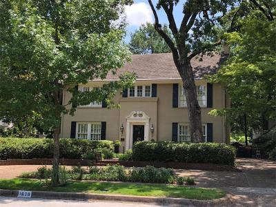 Tyler Single Family Home For Sale: 1608 S Chilton Avenue