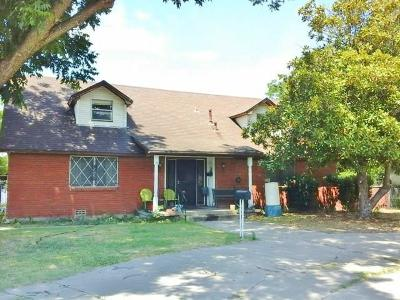 White Settlement Single Family Home Active Option Contract: 8104 White Settlement Road