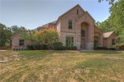 Aledo Single Family Home Active Kick Out: 1552 Hunterglenn Drive