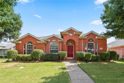 Lewisville Single Family Home Active Option Contract: 1216 Marina Court