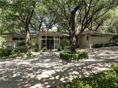 Dallas Single Family Home For Sale: 5315 Rock Cliff Place