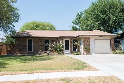 Garland Single Family Home Active Option Contract: 1734 Meridian Way