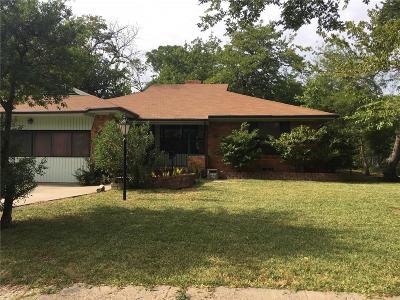 Single Family Home For Sale: 3137 Waldrop Street