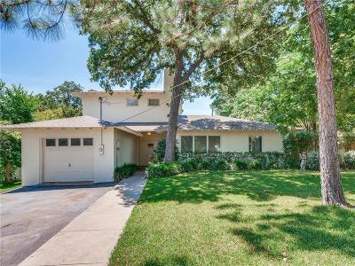 Denton Single Family Home For Sale: 614 Woodland Street