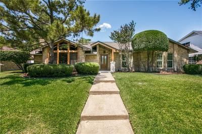 Plano Single Family Home Active Option Contract: 2433 Stone Creek Drive