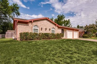 Watauga Single Family Home Active Option Contract: 6909 Bennington Drive