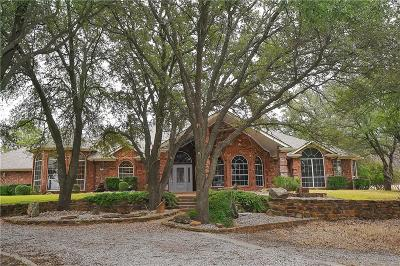 Weatherford Single Family Home For Sale: 625 Old Millsap Road