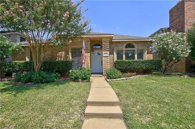 Plano Single Family Home Active Option Contract: 7949 Vienna Drive