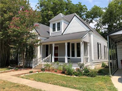 Whitewright Single Family Home For Sale: 414 W Spruce Street