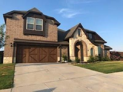 Aledo Single Family Home Active Option Contract: 700 Paintbrush Court