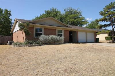 Denton Single Family Home Active Option Contract: 512 Jupiter Drive