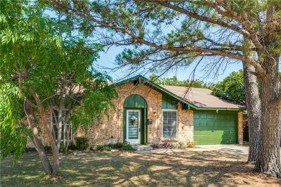Lewisville Single Family Home Active Option Contract: 1615 Cedar Keys Drive