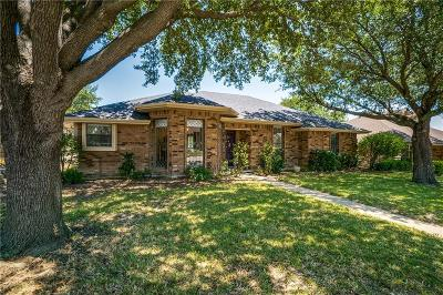 Garland Single Family Home Active Option Contract: 1417 Knob Hill Drive
