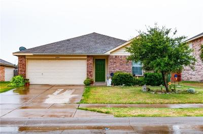 Rhome TX Single Family Home Active Option Contract: $195,000