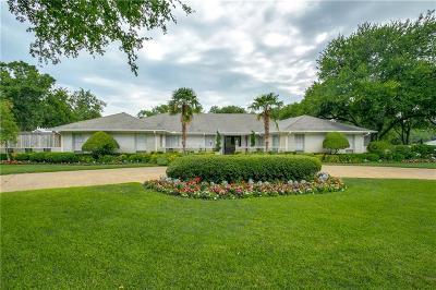 Dallas TX Single Family Home For Sale: $1,445,000
