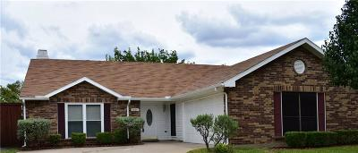 Grand Prairie Single Family Home Active Option Contract: 4801 Cactus Trail
